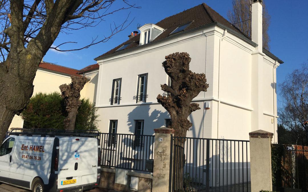 Ravalement à Bry sur Marne