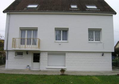 Isolation extérieure d'une maison à Bry / Marne