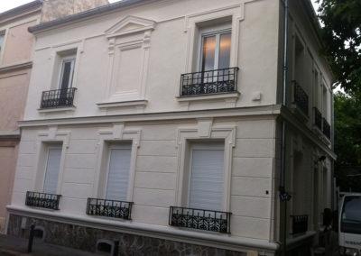 Ravalement de façade à Saint Denis