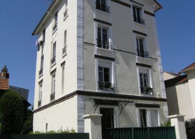 Ravalement de façade à Nogent sur Marne