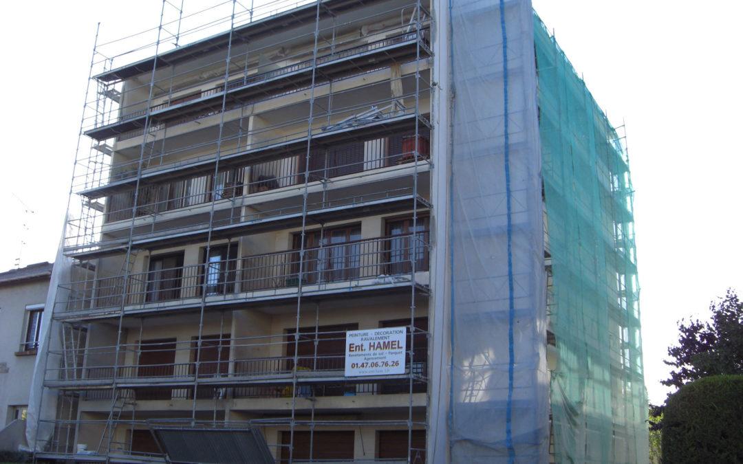 Ravalement immeuble Bry sur Marne