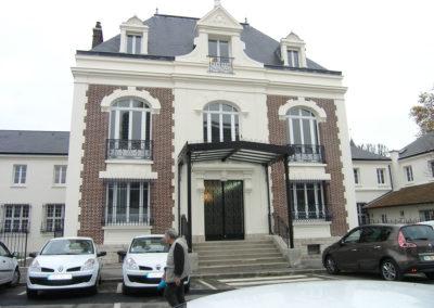 Ravalement de façade de la mairie de Bry sur Marne