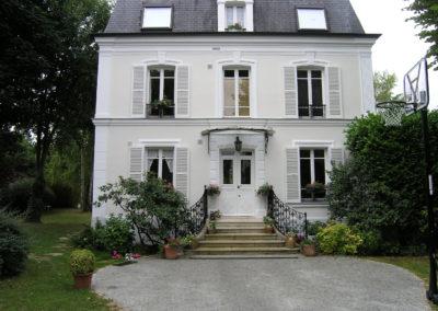 Ravalement de façade d'une maison