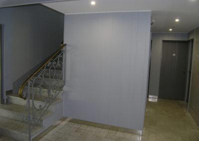Rénovation hall d'entrée d'immeuble